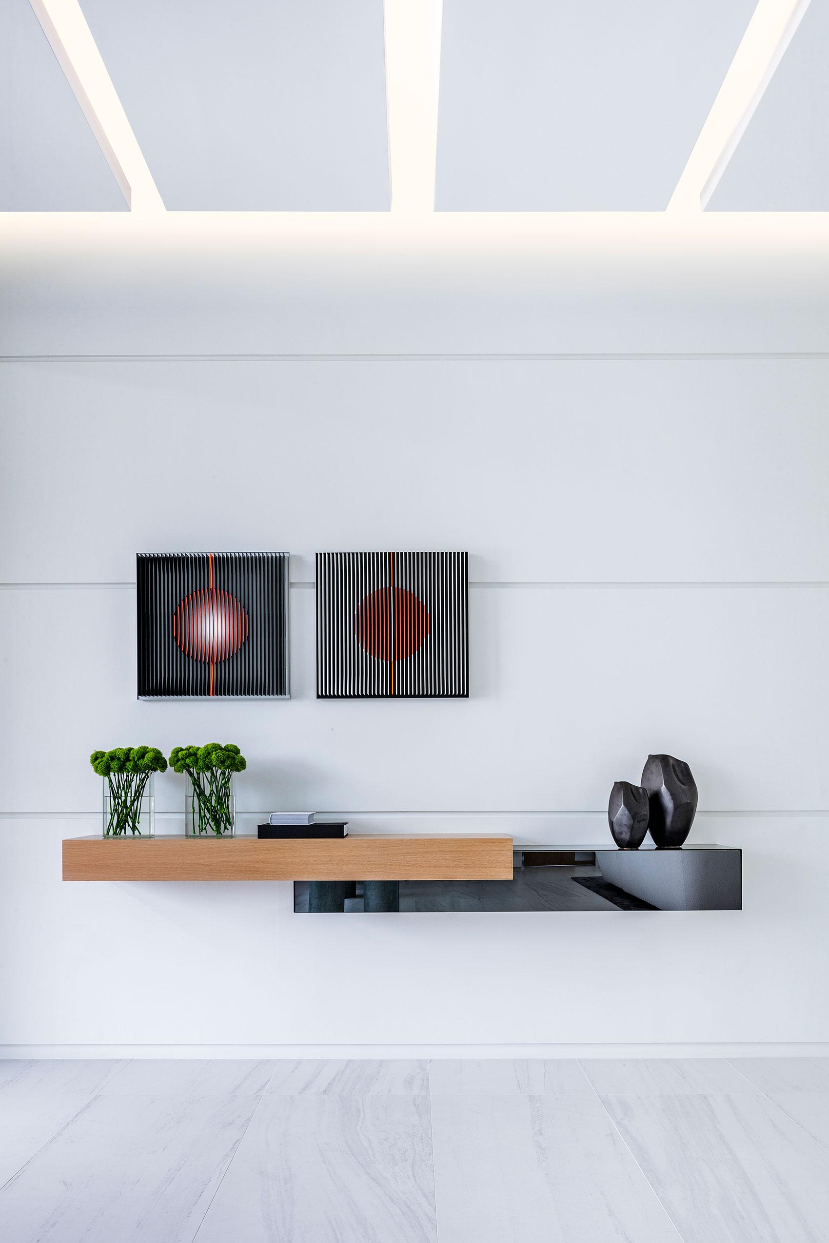 Modern Home shelf